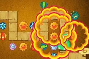 保卫萝卜沙漠模式的截图1