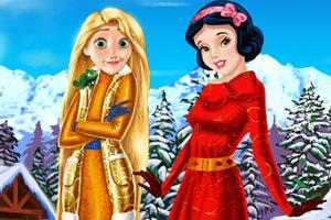 公主的冬季假期