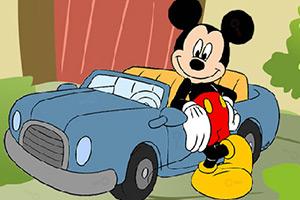 米老鼠找钥匙