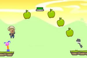 光头强收集苹果