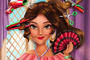 拉丁公主新发型的截图1