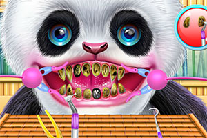 熊猫牙齿保健