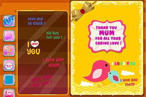 母亲节卡片制作