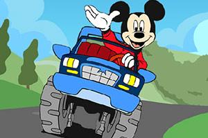 米老鼠赛车找字母